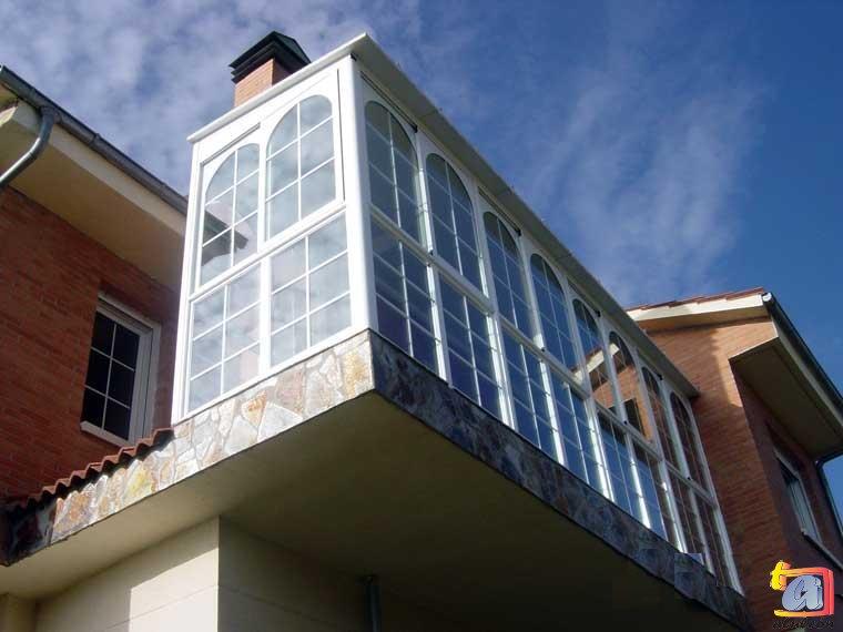 Visualizando imágenes del artículo: Áticos y galerías aluminio Nº20
