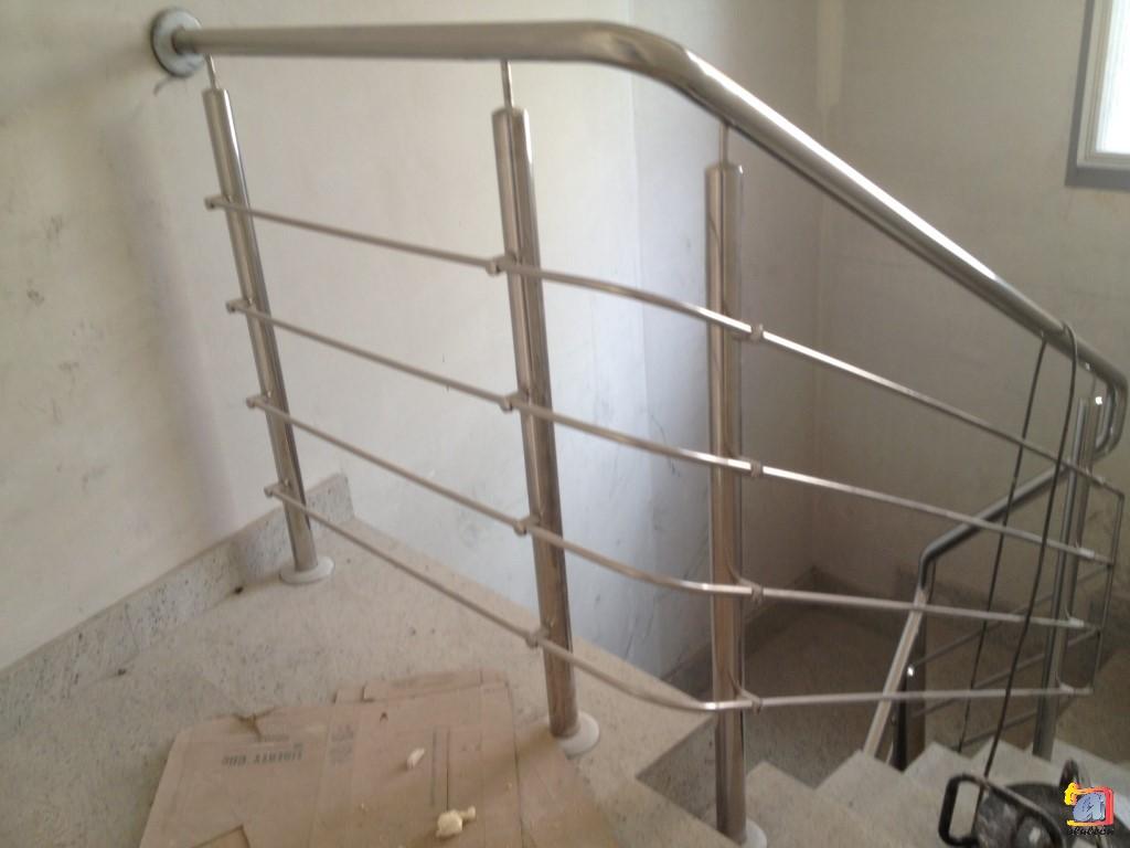 Visualizando imágenes del artículo: Barandillas/escaleras acero inoxidable Nº9
