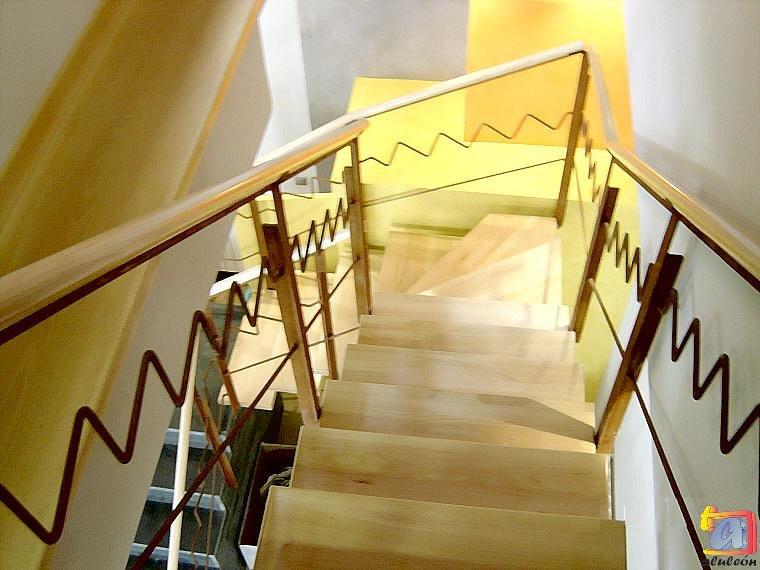 Visualizando imágenes del artículo: Barandillas/escaleras hierro-forja Nº14