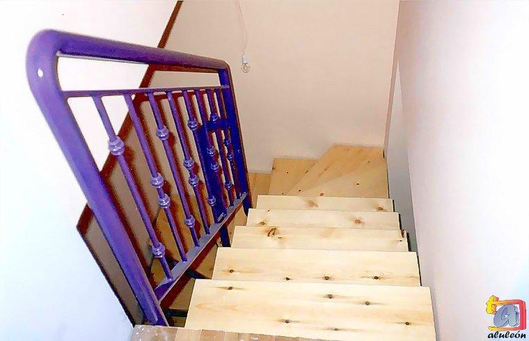 Visualizando imágenes del artículo: Barandillas/escaleras hierro-forja Nº3