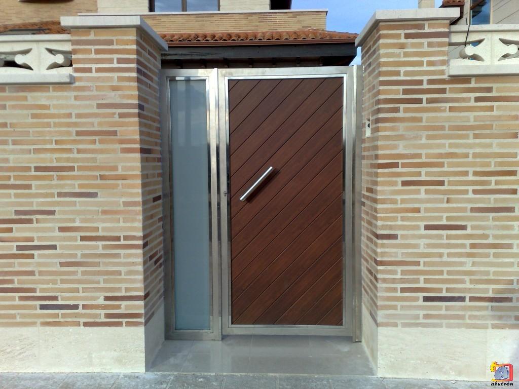Visualizando imágenes del artículo: Puertas acero inoxidable Nº7